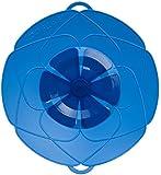 Kochblume Deckel, Silikon, Blau 29 cm