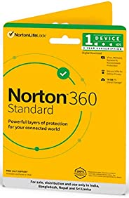 Norton 360 Standard | 1 User 3 Years | Total Security for PC, Mac, Android or iOS | Physical Delivery | No CD