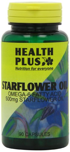 Health Plus Starflower Oil 500mg 90 capsule