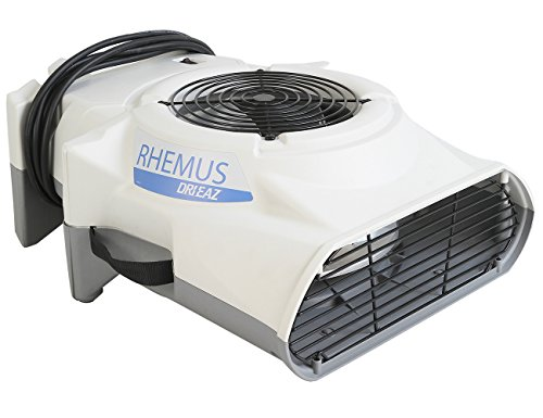 RHEMUS RV1500 Ventilator, Lüfter, Gebläse, Windmaschine – Professionelle Trocknung von Flächen, Gebäuden und am Bau