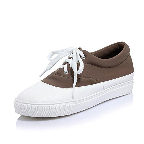 Coréenne fashion ladies chaussures occasionnelles/coloris assortis chaussures/Chaussures plates/Chaussures lacées/Chaussures étudiants sauvages C