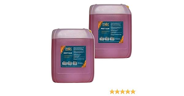 Inox Insektenreiniger Insektenentferner Konzentrat 2 X 10l Reiniger Für Die Fahrzeugpflege Auto