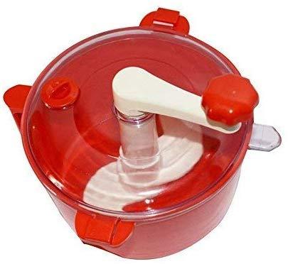 USPECH Plastic Automatic Atta Roti Maker for Home(RED)