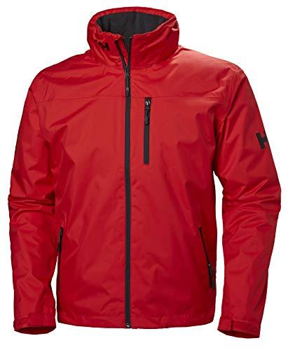 Helly Hansen Herren Crew Hooded Midlayer Jacket Trainingsjacke, Rot (Rojo 222), XXXX-Large