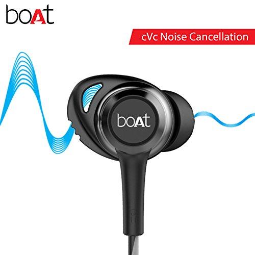 boAt Rockerz 285 Wireless In-Ear Sports Bluetooth Headphone (Active Black)