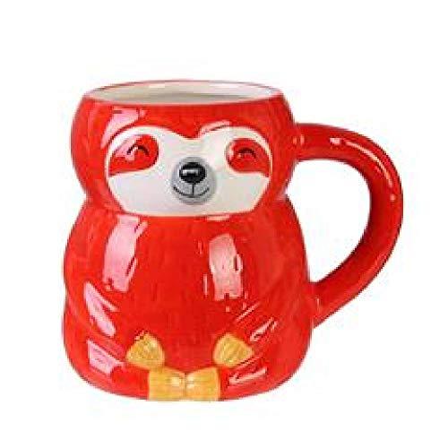 CMP, Mug Forme Paresseux Rouge