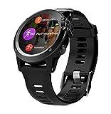 ZY H1 Reloj Inteligente IP68 Impermeable Deportes Estudiante Tarjeta de Adultos GPS posicionamiento GPS Ritmo cardíaco 3GWIFI,Black