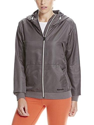 Bench Damen Lightweight Bomber Sportsweatshirt, Grau (Forged Iron GY170), 38 (Herstellergröße: M)