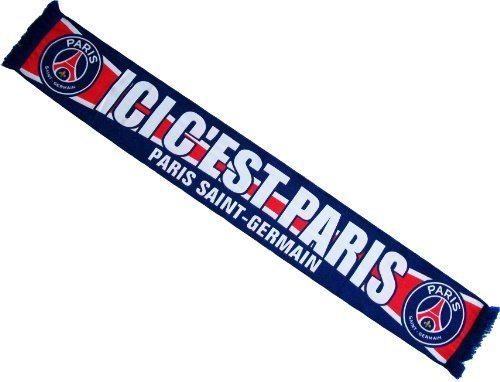 Echarpe PSG - Collection officielle PARIS SAINT GERMAIN - Football Ligue 1 - Taille 138 cm