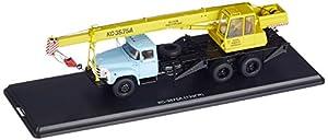 Start Scale Models ssm1108-Camión grúa ks-3575a, zil-133gya, Amarillo-Azul