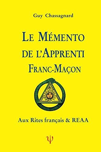 LE MMENTO DE l'APPRENTI FRANC-MAON