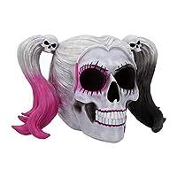 Nemesis Now Little Monster Skull Figurine 17cm White, Resin, One Size