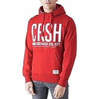 Crosshatch Men's Hooded Birchtree Printed Sweatshirt Hoodie