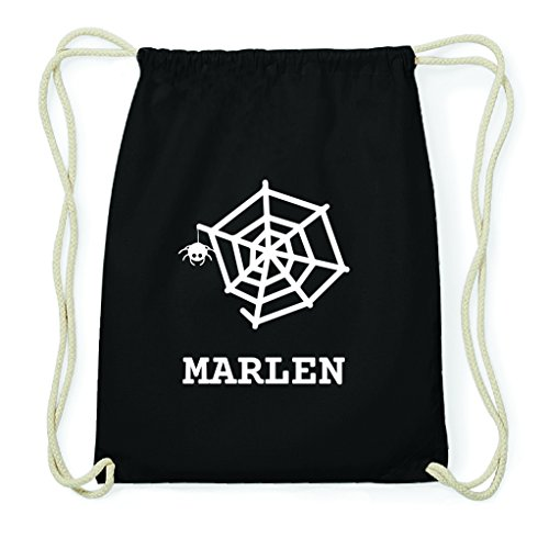 JOllify Turnbeutel Halloween für Marlen - Spinnennetz