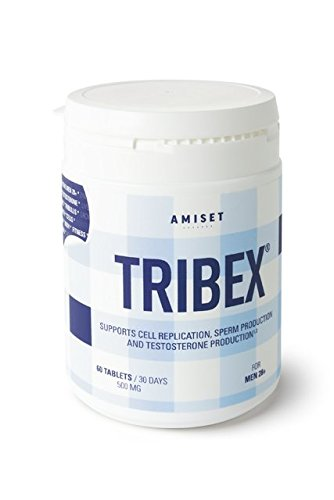 TRIBEX with tribulus, testosterone support complex (60 tablets / 60 days) for men 28+ muira pauma, Avena sativa, ginseng and zinc. Quality always wins! -