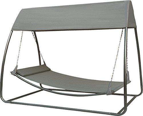 SORARA Hamac (avec Moustiquaire) (UV 50+) | 45 KG 2 Personnes Mobilier d?Extérieur pour Jardin/Cour Arrière