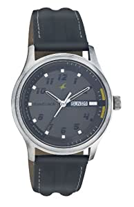 Fastrack Urban Kitsch Analog Grey Dial Men's Watch -NK3001SL02