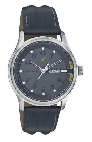 Fastrack Urban Kitsch Analog Grey Dial Men's Watch - NE3001SL02 image