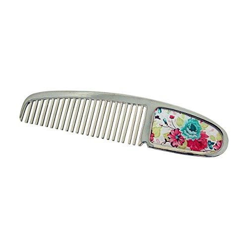 metal-comb-summer-flower-design-silvertone-hair-accessories-sc1361