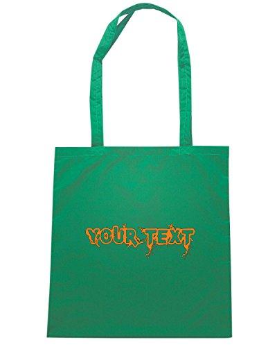 T-Shirtshock - Borsa Shopping FUN1127 custom infected gamer t shirt Verde