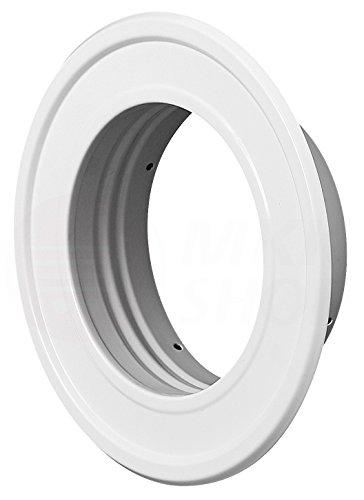 embout de chemin/ée colliers Disponible en plusieurs tailles raccord en T pour rosace murale Syst/ème de ventilation /à tubes flexibles en aluminium et acier inoxydable Ventilateur axial et radial a clapet anti-retour