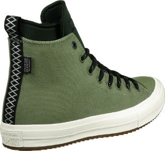Converse Trainers - Converse Chuck Taylor All Star II Shoes - Dark Chocolate FATIGUE GREEN/GREEN ONYX/EGRET