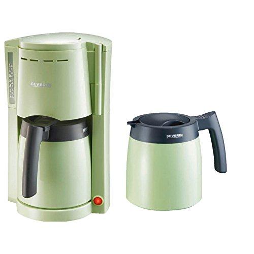 Severin Kaffeeautomat 9747 mit 2 Thermokannen, grün