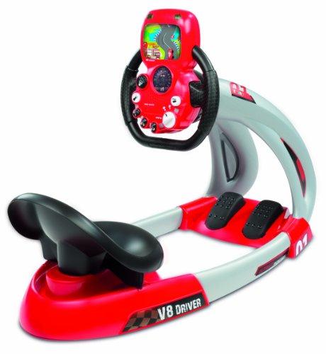 Smoby - 500243 - Jeu d'imitation - Simulateur de conduite - V8 Driver