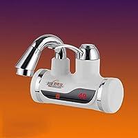 Immediata Acqua calda rubinetto a doppia calda e riscaldamento acqua fredda elettrico istantaneo acqua di riscaldamento senza serbatoio di visualizzazione rubinetto elettrico rubinetto della cucina del riscaldatore di acqua del LED Digital , 2