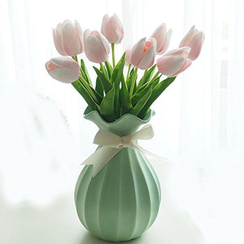 mesmj-el-tulip-flores-artificiales-emulacion-salon-decoraciones-florales-decoracion-interior-mesa-de