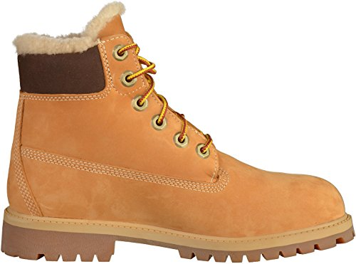 Timberland Donna Scarpe / Boots 6 In Premium Waterproof Shearling Lined Beige