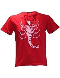 Waooh - T-Shirt Scorpion Col Lacet Enzo