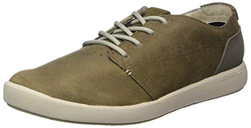 Merrell Herren Freewheel Lace Sneakers, Grau (Cloudy), 49 EU (Sneaker Knöchel Lace)
