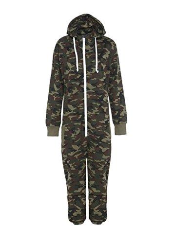 ningsanzug * One size Gr. 7/8 Jahre, camouflage ()