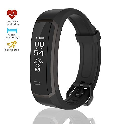seegar Fitness Tracker Pedometro Calorie Monitor by Impermeabile Activity Tracker del Sonno Cardiofrequenzimetro Smart Watch Polso