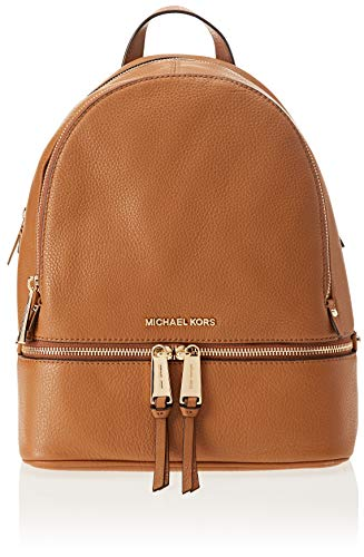 Michael Kors Rhea Zip - Borse a zainetto Donna, Marrone