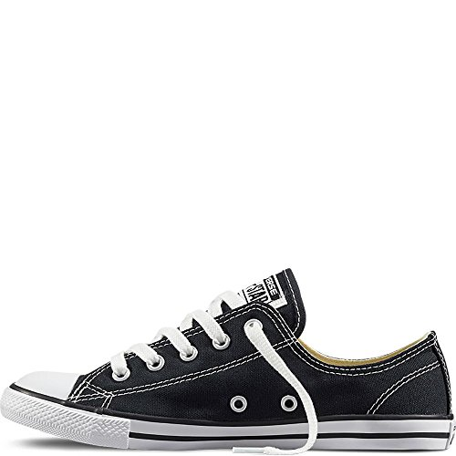 Converse Lederchucks Women - CT Dainty OX 537107 - Black, Schuhgröße:37.5