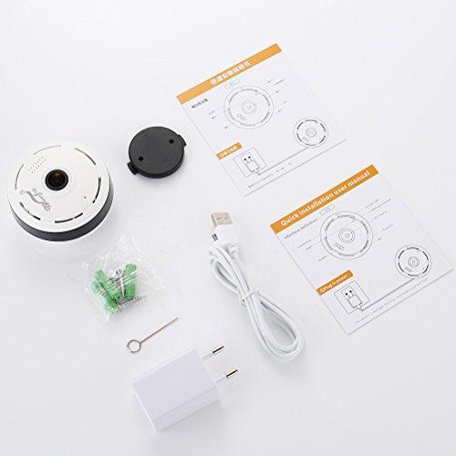 Mini IP Kamera 960P Panorama WiFi HD Zuhause Geschäft Sicherheit IP Videoaufnahme Nachtsicht - 7