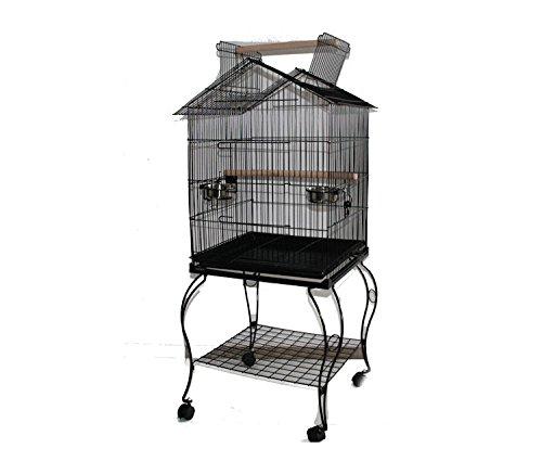 MyPets® Vogelvoliere LOFT XL Papageienkäfig Voliere Käfig Vogelkäfig Sittich JETZT GÜNSTIGER - Für In- und Outdoor - Top Ausstattung