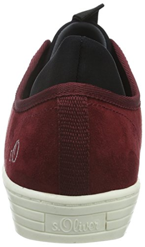s.Oliver Damen 23606 Sneakers Rot (BORDEAUX 549)