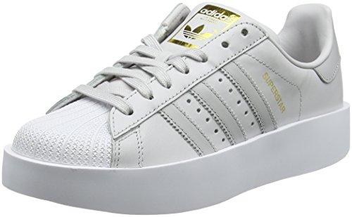 Adidas Superstar Bold, Scarpe da Fitness Donna, Grigio (GriunoGridosFtwbla 000), 42 EU
