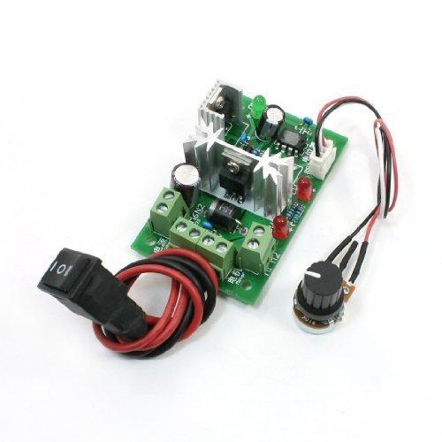 Sourcingmap a13090200ux0093 - Pwm 120w dc modulo di controllo di velocità del motore w potenziometro commutabile - Modulo Di Controllo Del Motore