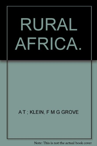 Geogry of Rural Africa (Cambridge Topics in Geography)