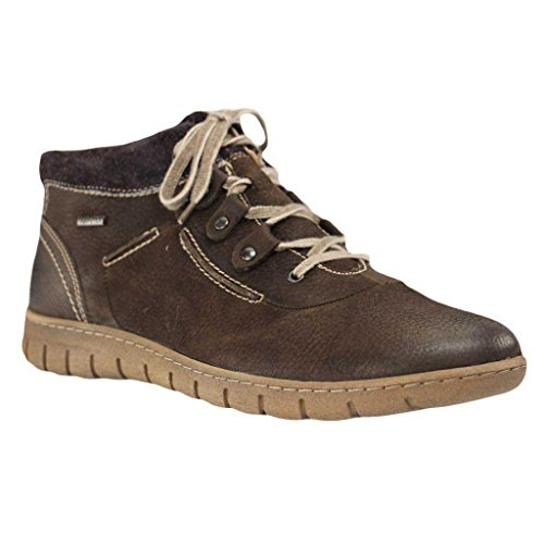 Josef Seibel Ladies Steffi Son 13 High Sneaker Grigio (vulcano)
