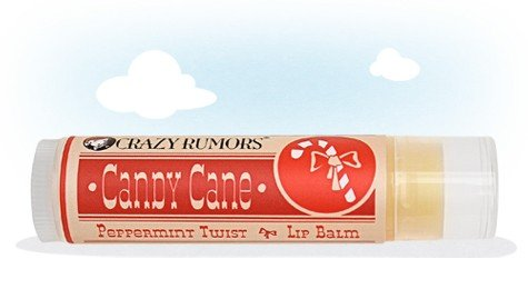 CRAZY RUMORS - Baume Lèvres Collection Candy Cane - PEPPERMINT TWIST