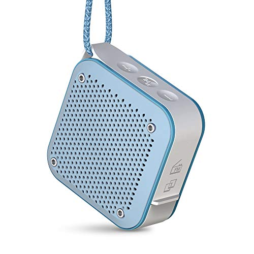 Energy Sistem Outdoor Box Shower - Altavoz Portátil (Bluetooth v4.2, TWS, Splash/Shockproof, 5W, microSD MP3, Radio FM)