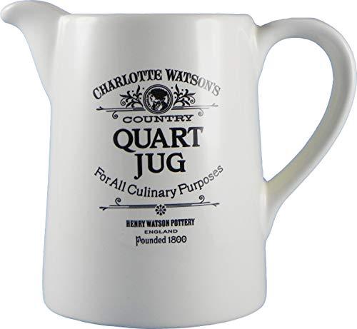 Charlotte Watson konisch Quart Krug White Milk Glass Bowl