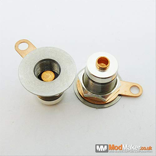 Mod Maker 510 Connector Micro Spring, 16-30mm Top Cap (Top Cap Breite: 16mm (kein Washer))