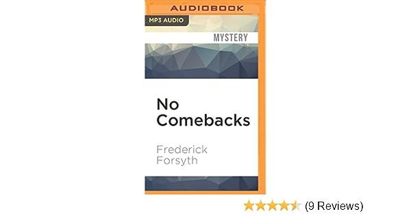 No Comebacks Amazon De Frederick Forsyth Nigel Davenport