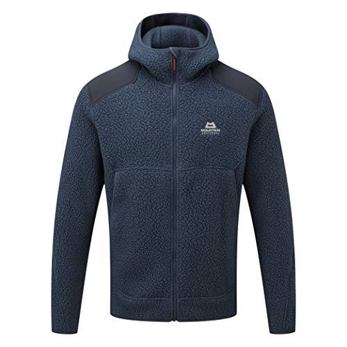 Mountain Equipment Moreno Hooded Jacket, XL, Denim Blue/Blue Nights -